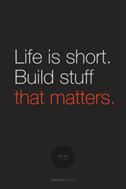 Poster-startup-life-is-short