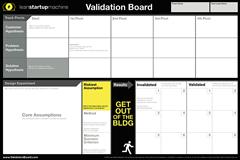 Validation Board, una herramienta para gestionar tus hipótesis   Startups, Estrategia y Modelos de negocio